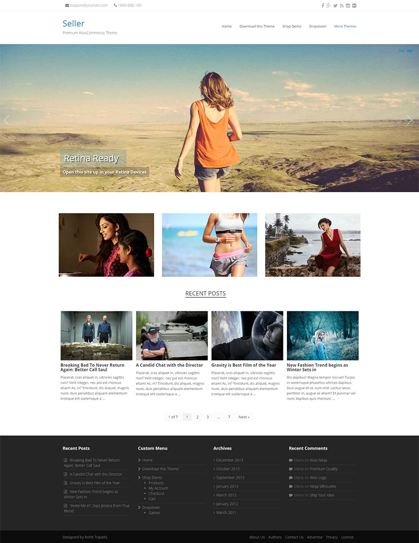 Seller-WooCommerce-Theme